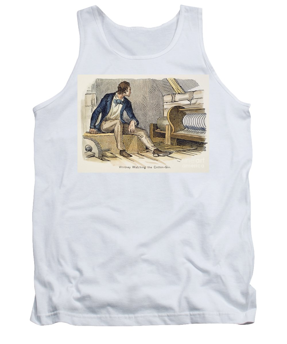 18th Century Tank Top featuring the photograph Eli Whitney (1765-1825) by Granger