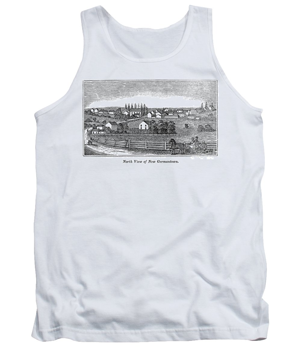 1844 Tank Top featuring the photograph New Jersey, 1844 by Granger