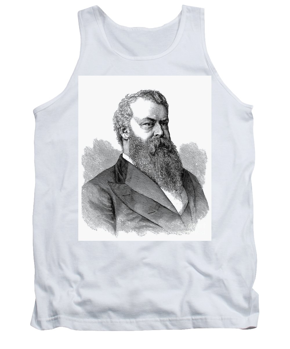 1876 Tank Top featuring the photograph William Worth Belknap by Granger