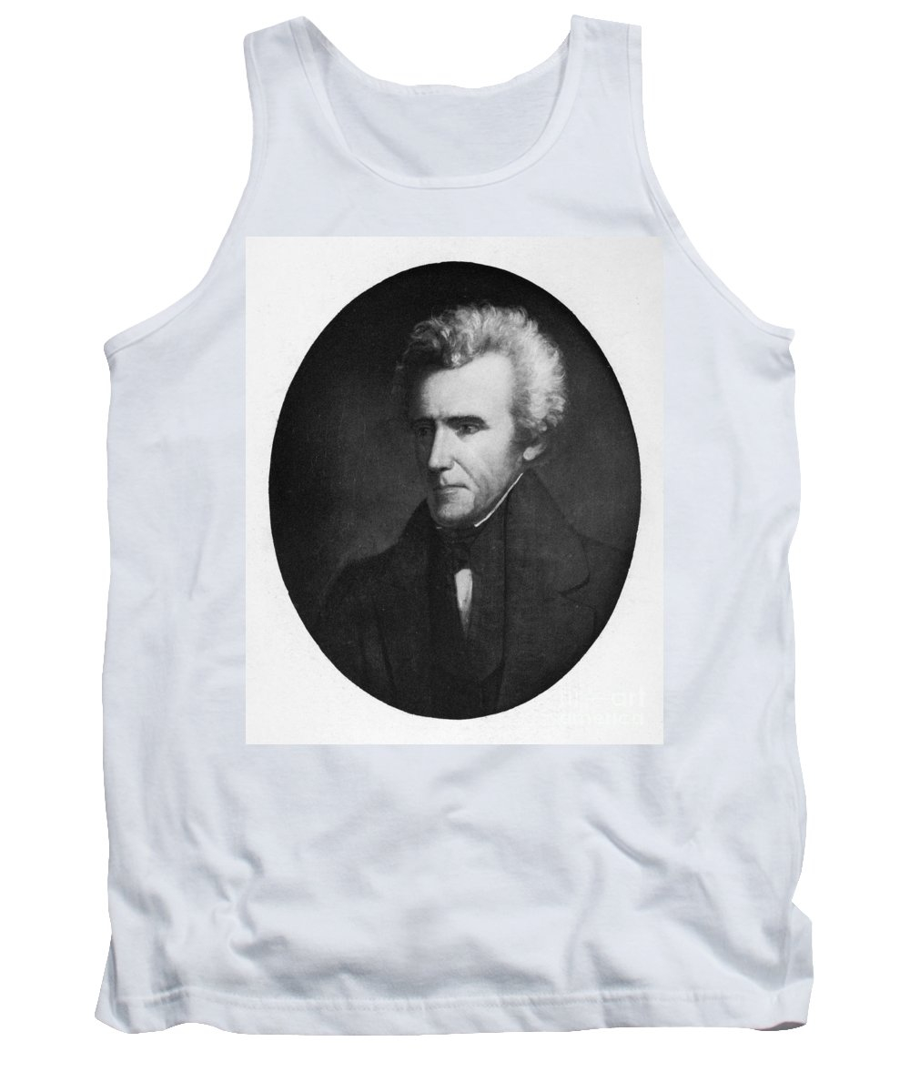 19th Century Tank Top featuring the photograph Andrew Jackson (1767-1845) by Granger