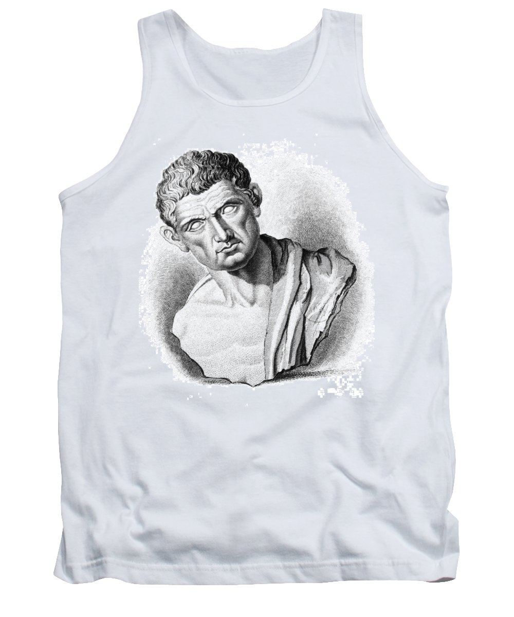 History Tank Top featuring the photograph Aristotle, Ancient Greek Philosopher by Science Source