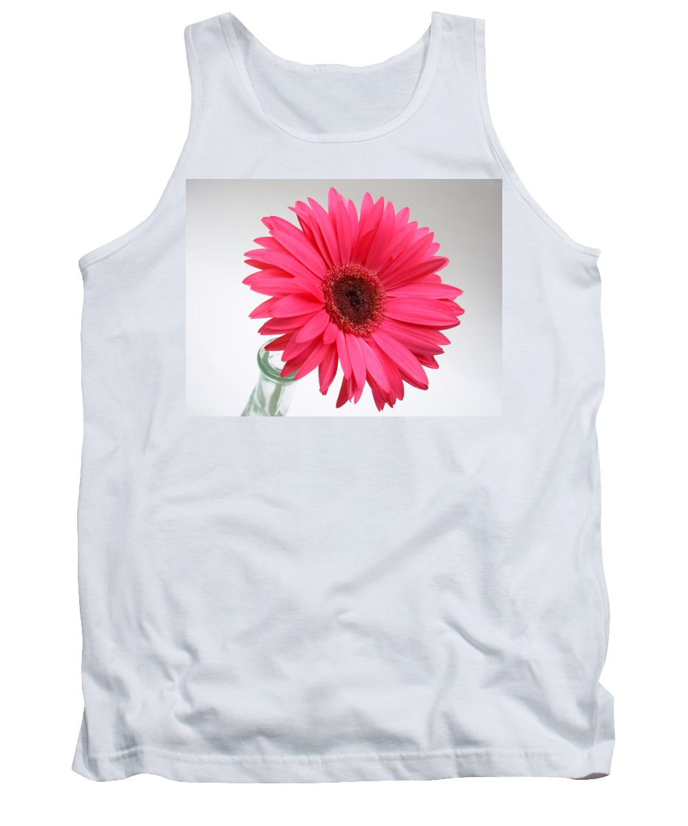 Gerbera Photographs Tank Top featuring the photograph 5524 by Kimberlie Gerner