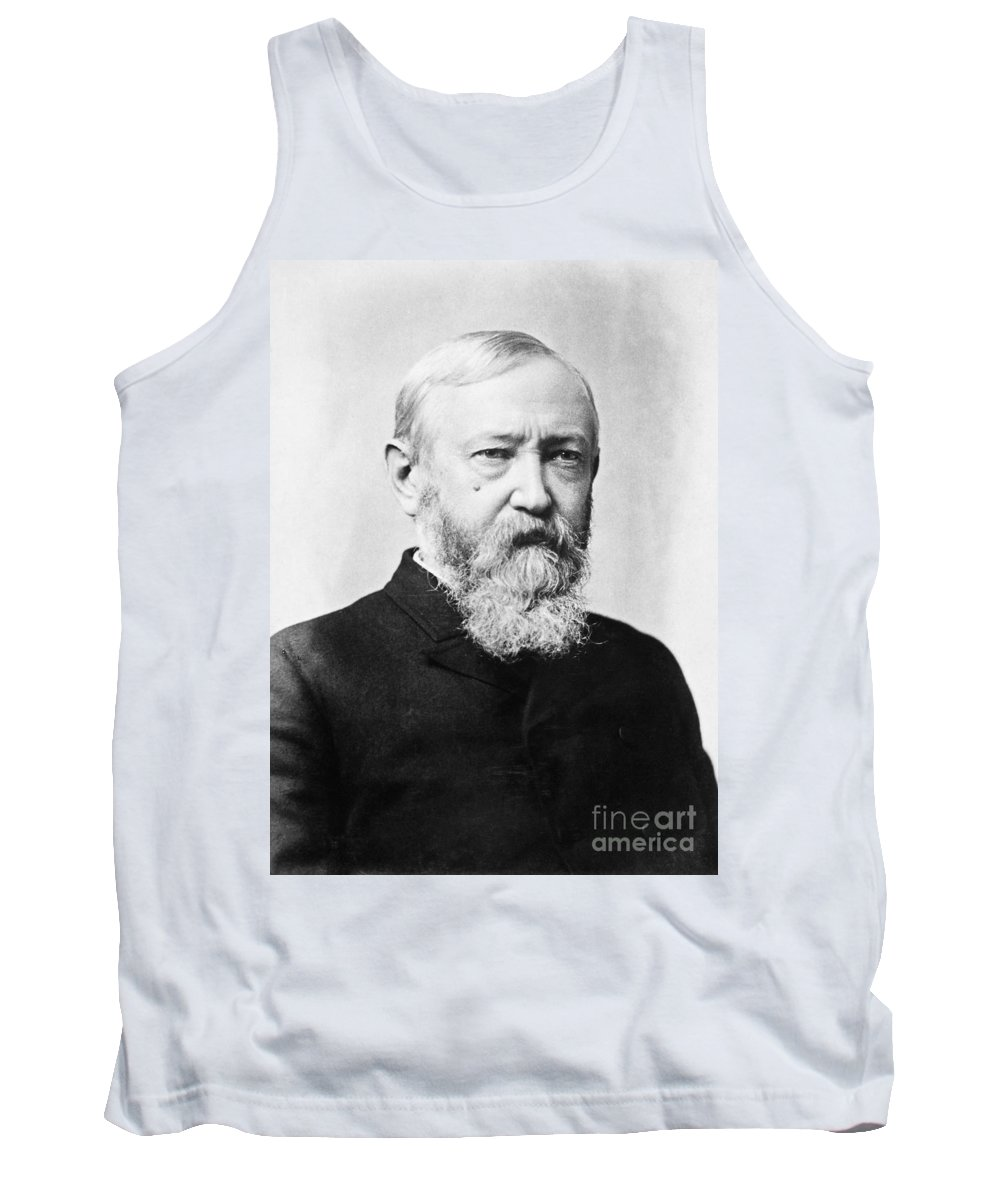 1888 Tank Top featuring the photograph Benjamin Harrison by Granger