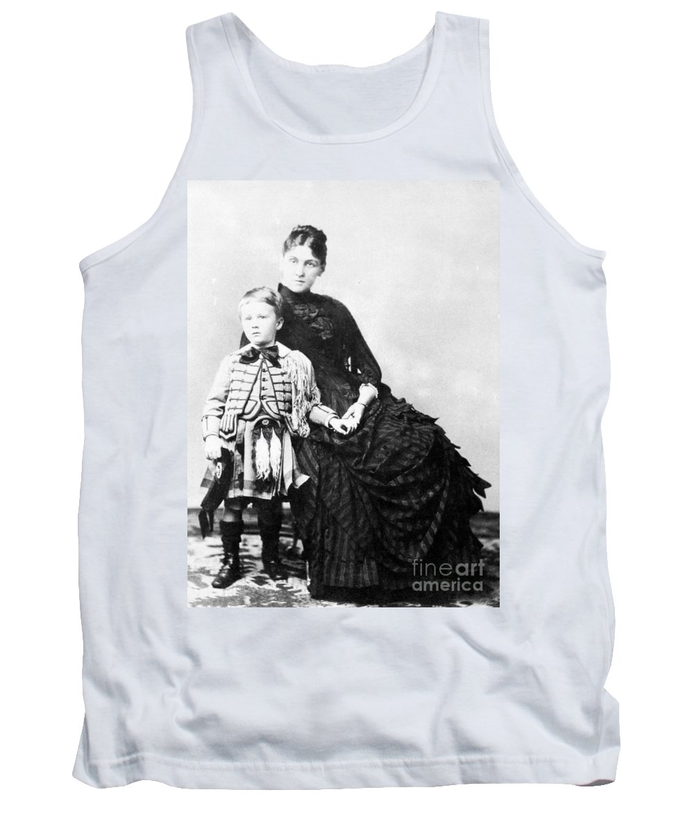 1887 Tank Top featuring the photograph Franklin Delano Roosevelt by Granger