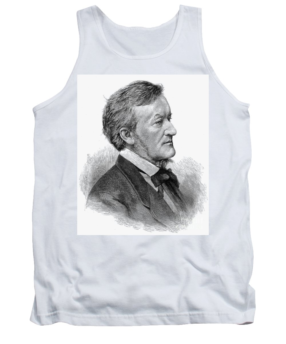 19th Century Tank Top featuring the photograph Richard Wagner (1813-1883) by Granger