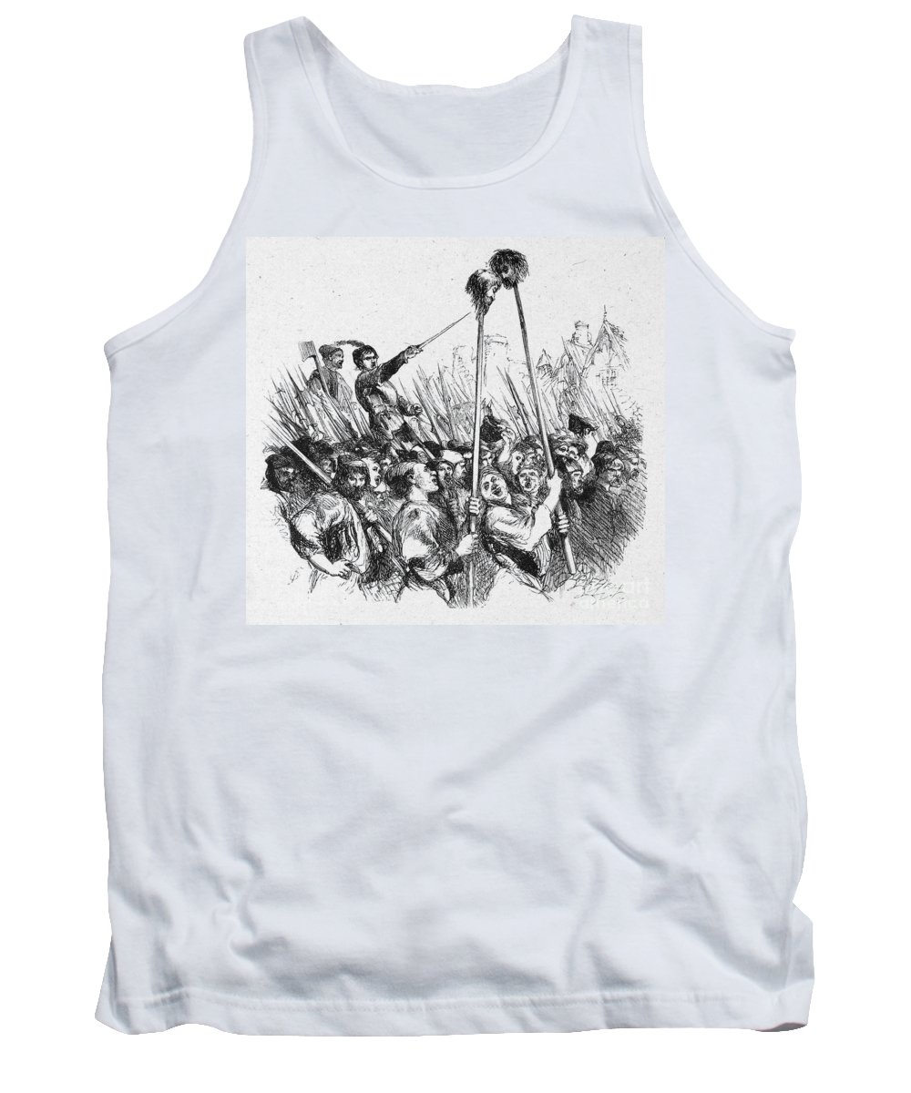 16th Century Tank Top featuring the photograph Shakespeare: Henry Vi by Granger