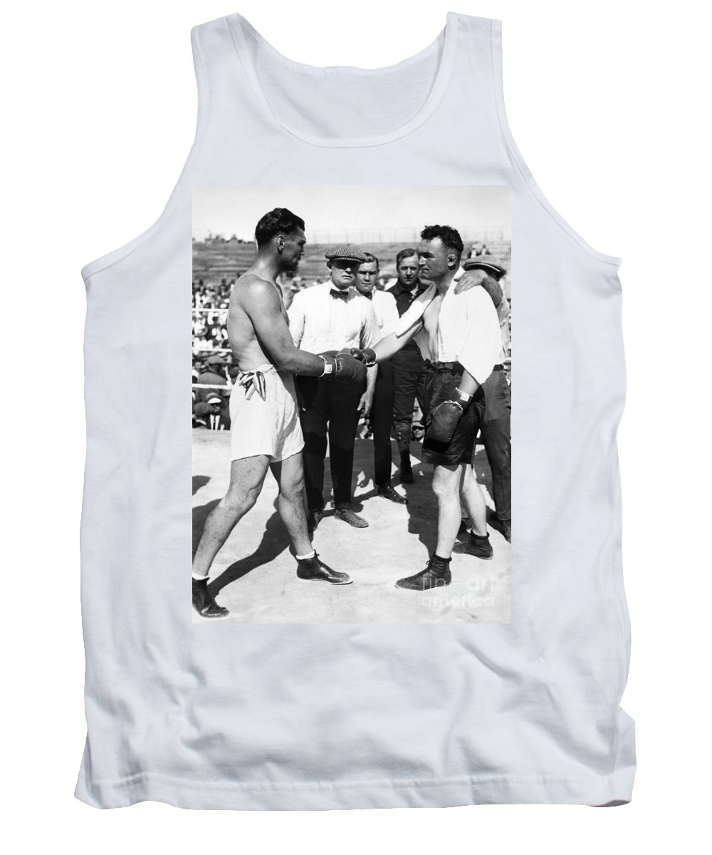 1923 Tank Top featuring the photograph Jack Dempsey (1895-1983) by Granger
