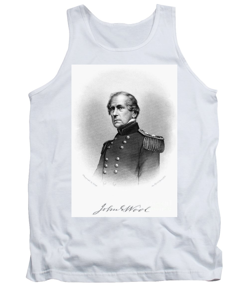 19th Century Tank Top featuring the photograph John Ellis Wool (1784-1869) by Granger