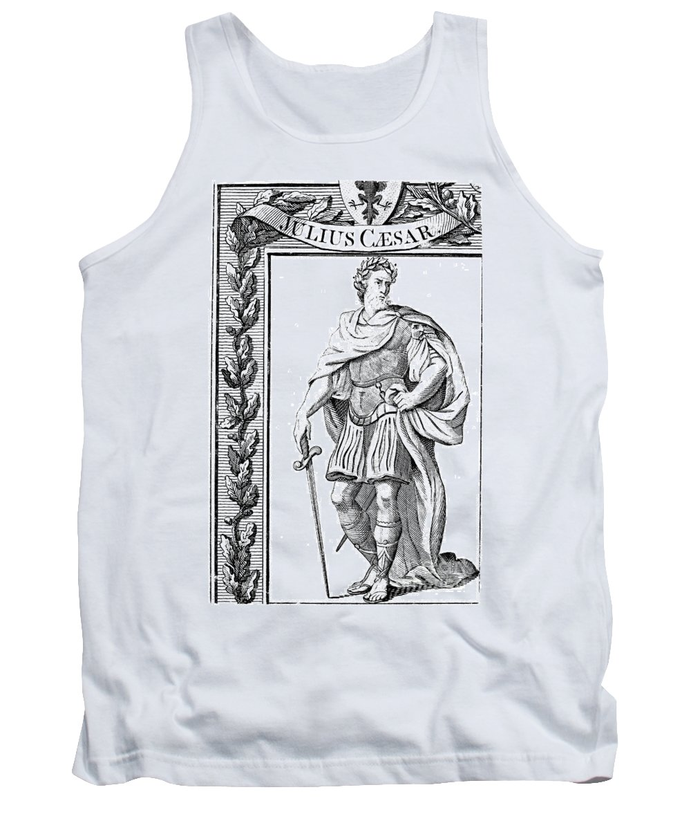 1st Century B.c Tank Top featuring the photograph Julius Caesar (100 B.c.-44 B.c.) by Granger