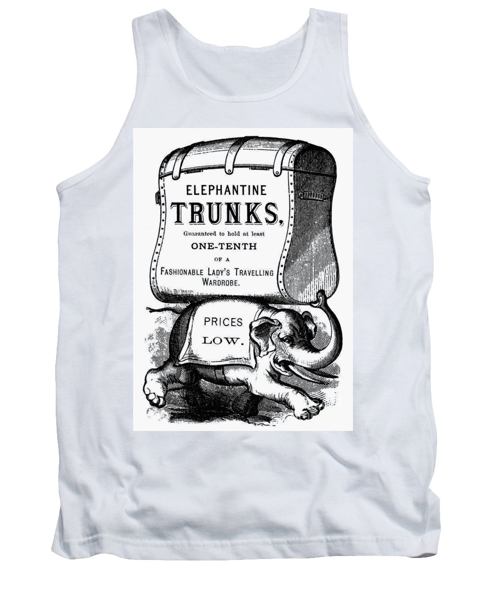 19th Century Tank Top featuring the photograph Mortised Cut, 19th Century by Granger