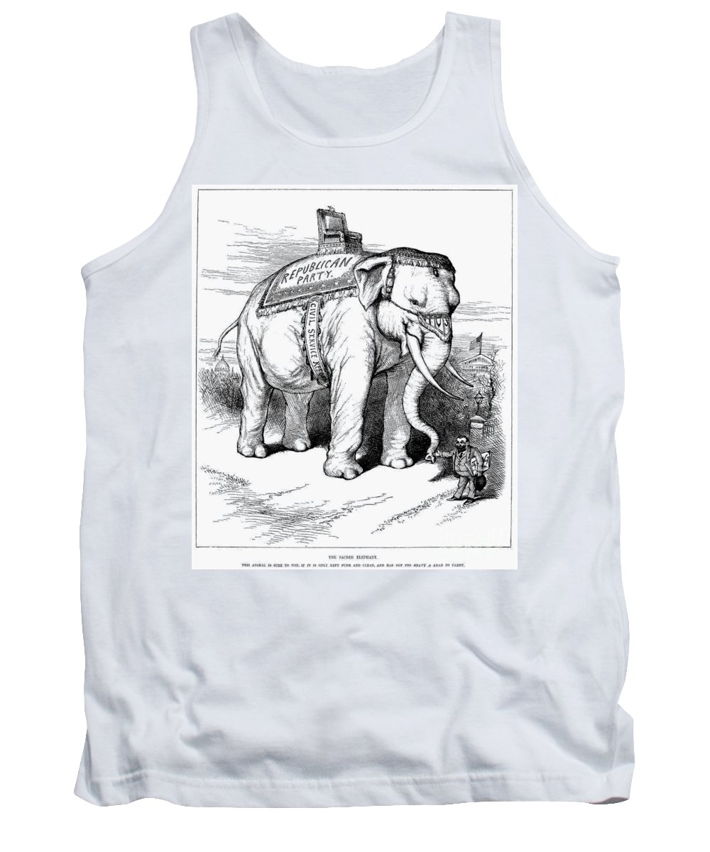 1884 Tank Top featuring the photograph Presidential Campaign, 1884 by Granger