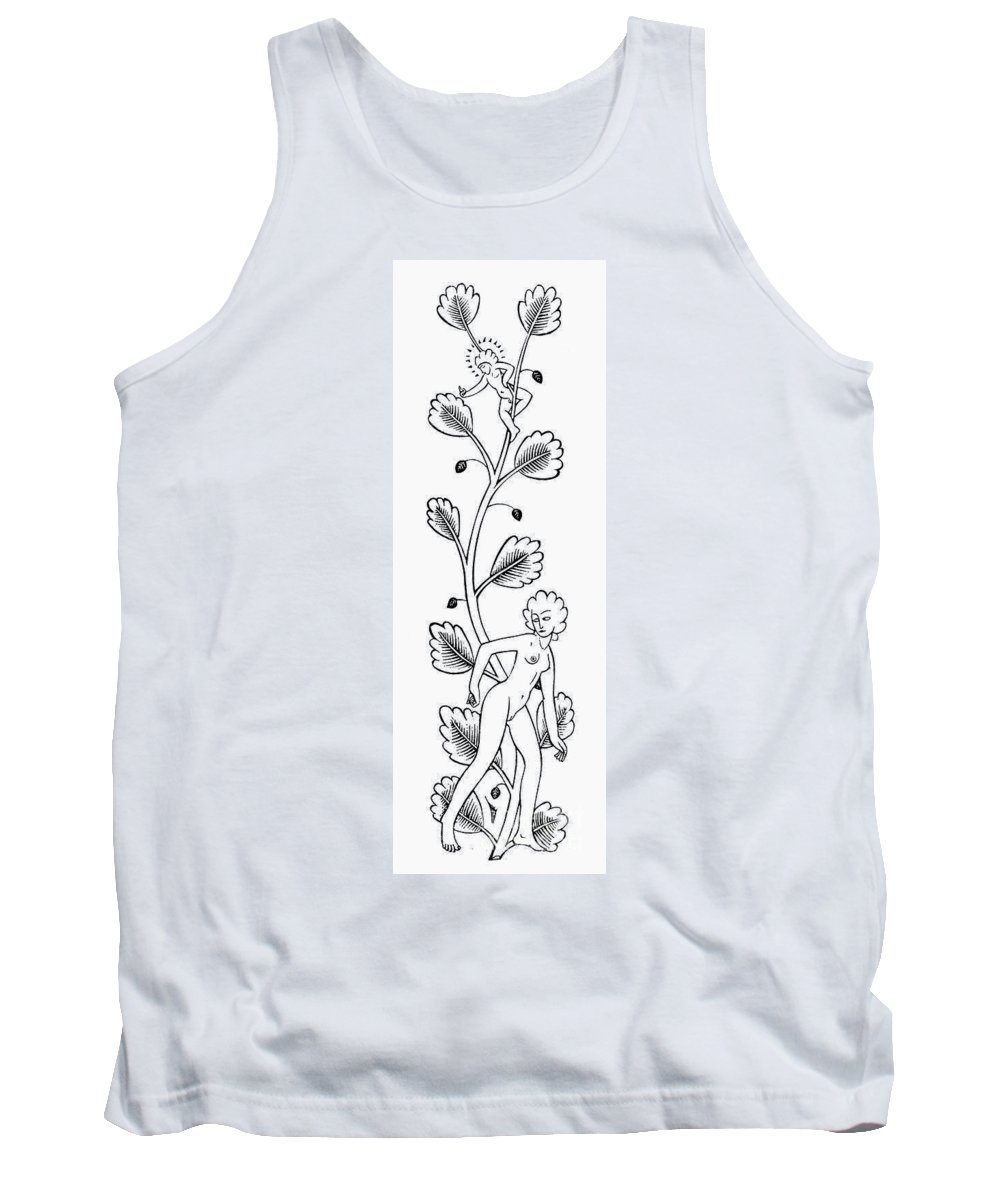 1927 Tank Top featuring the photograph Eric Gill (1882-1940) by Granger
