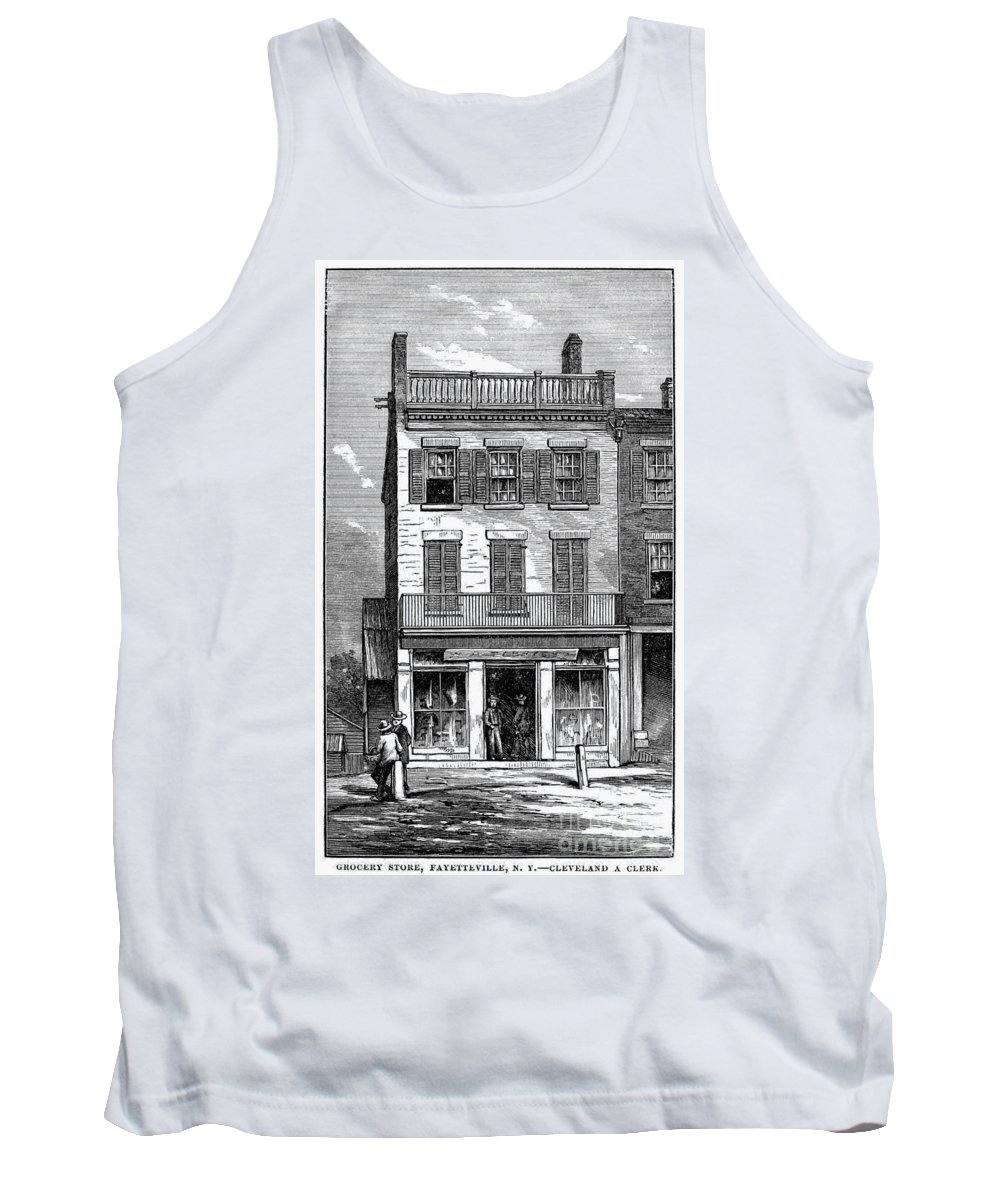 1884 Tank Top featuring the photograph Grover Cleveland by Granger