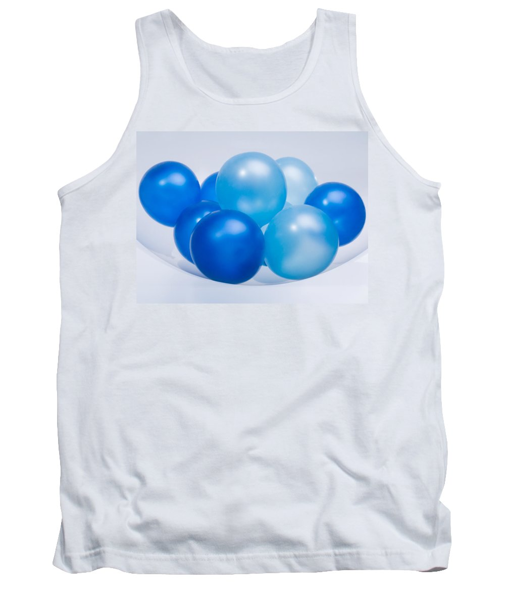 Contrasts Tank Top featuring the photograph Abstract Balloon by Setsiri Silapasuwanchai