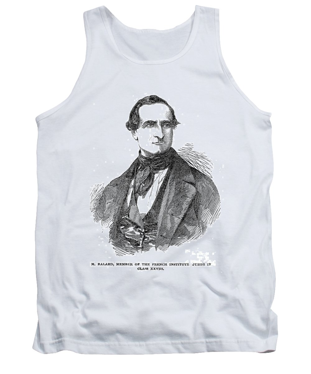 19th Century Tank Top featuring the photograph Antoine Jerome Balard by Granger