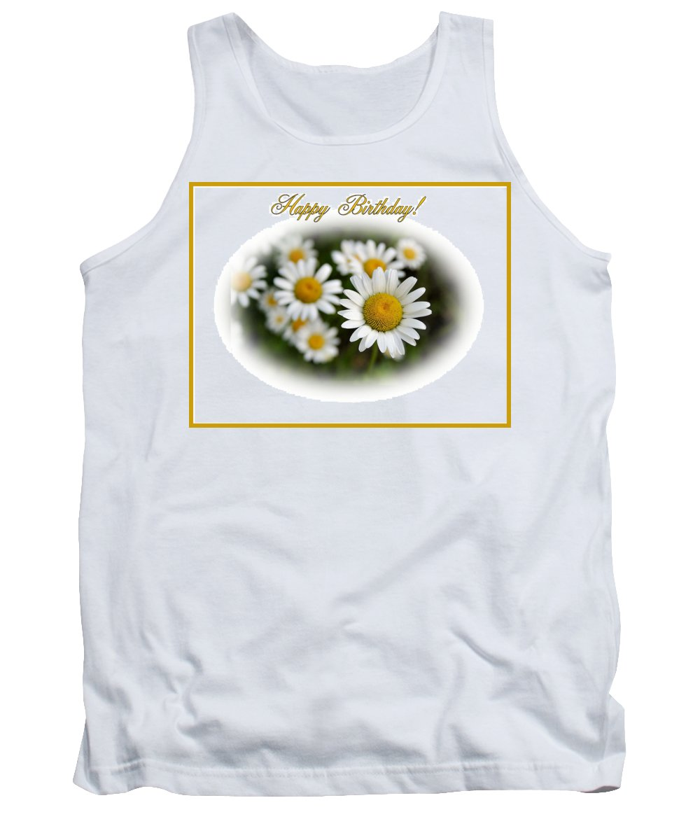 Happy Birthday Tank Top featuring the photograph April Birthday by Kristin Elmquist