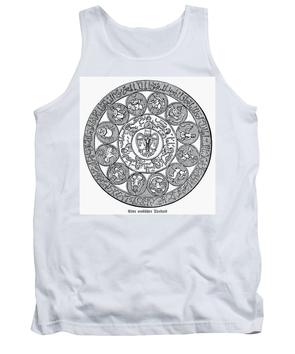 1880 Tank Top featuring the photograph Arabic Zodiac by Granger