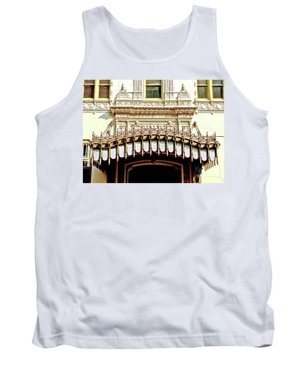 Architecture Tank Top featuring the photograph Architectural Detail New Orleans by Frances Hattier