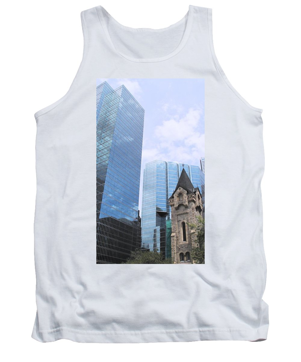 King Tank Top featuring the photograph Ascendancy Of Capitalism by Ian MacDonald