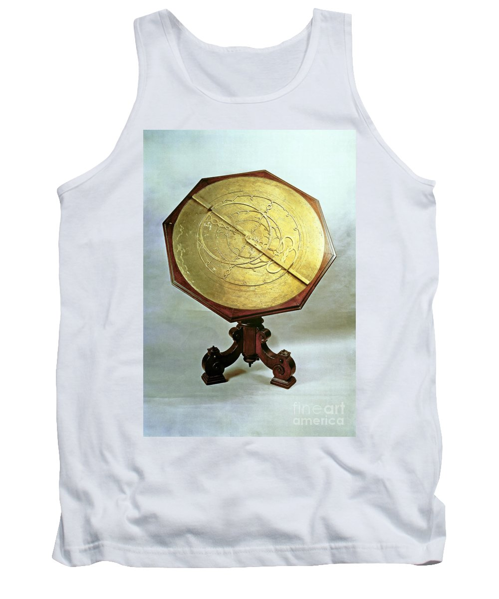Galileo Galilei Tank Top featuring the photograph Astrolabe by Photo Researchers