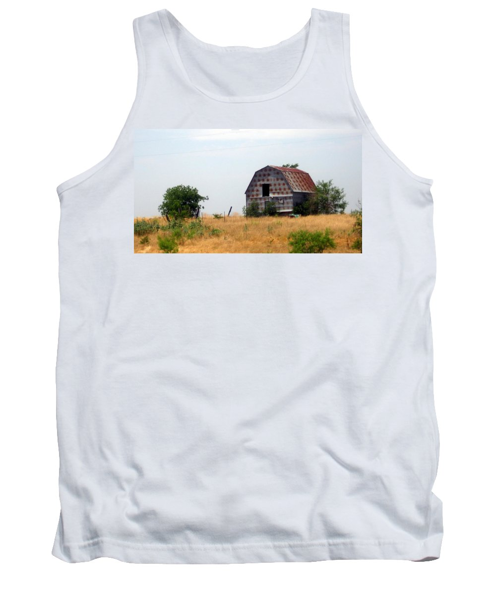 Barn Tank Top featuring the photograph Barn by Amy Hosp