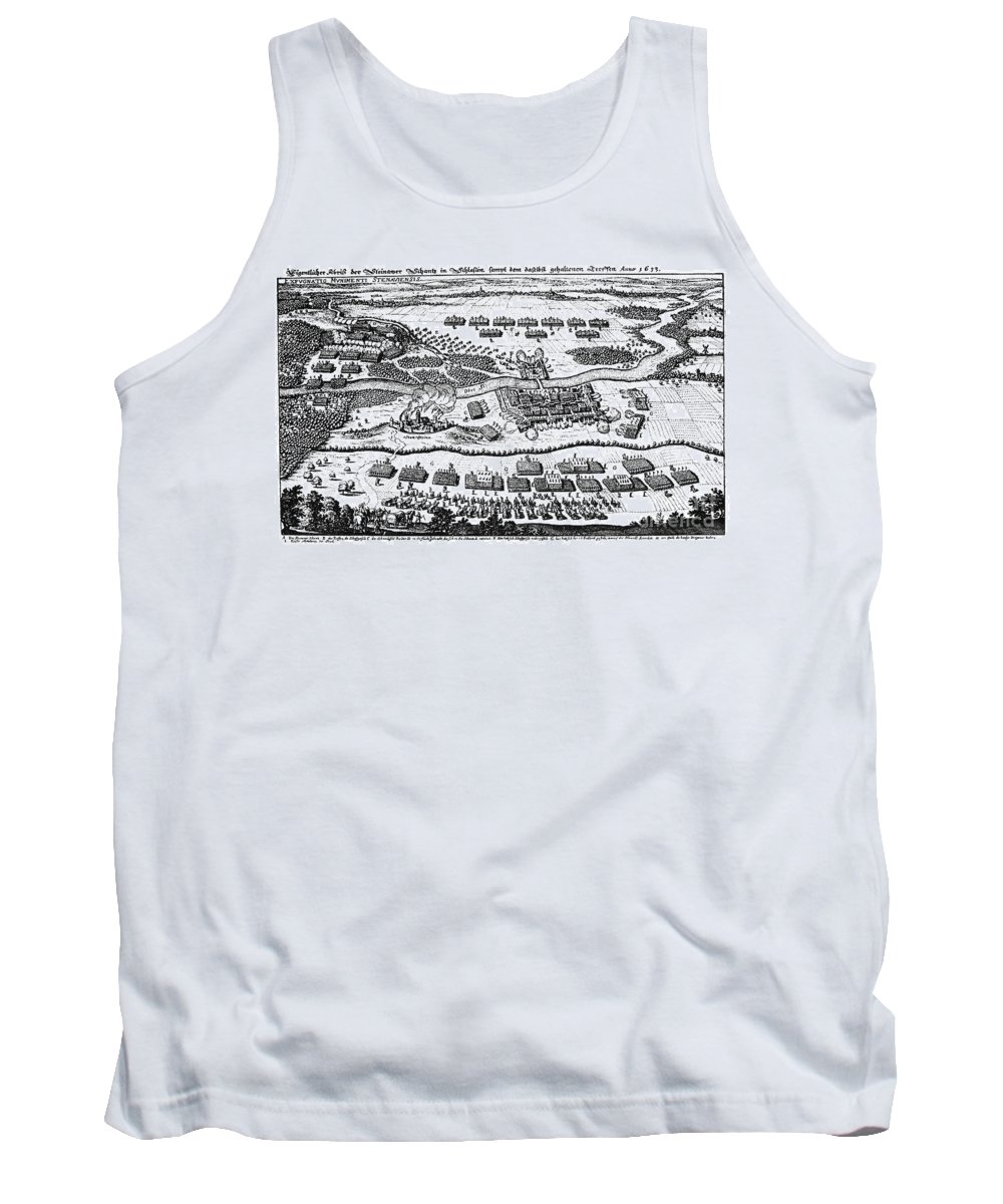 1637 Tank Top featuring the photograph Battle Of Steinau, 1633 by Granger