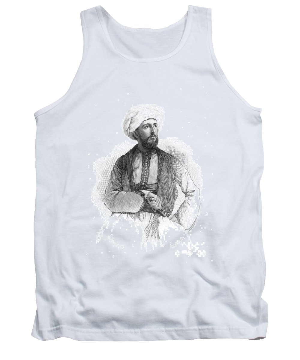 19th Century Tank Top featuring the photograph Bayard Taylor (1825-1878) by Granger