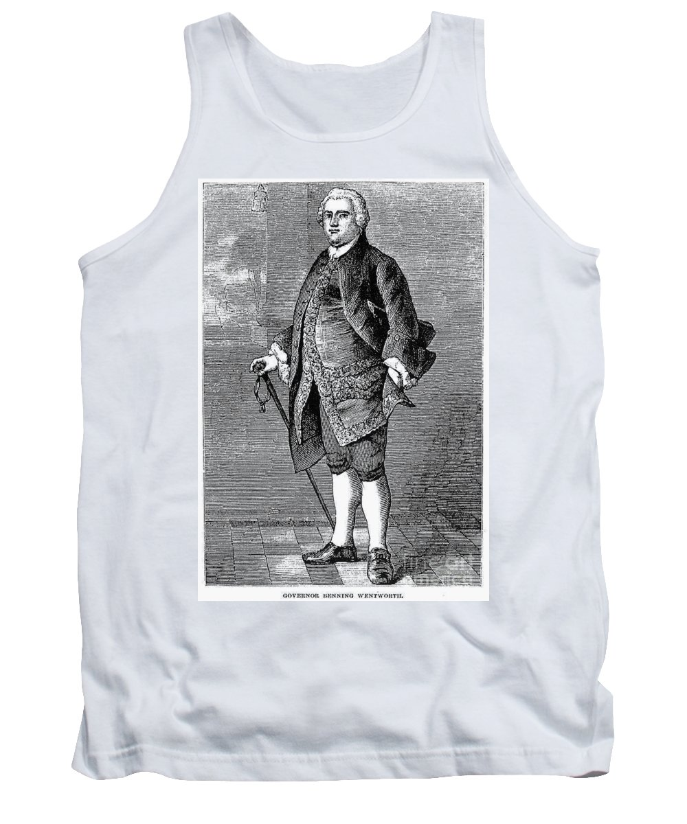 18th Century Tank Top featuring the photograph Benning Wentworth by Granger