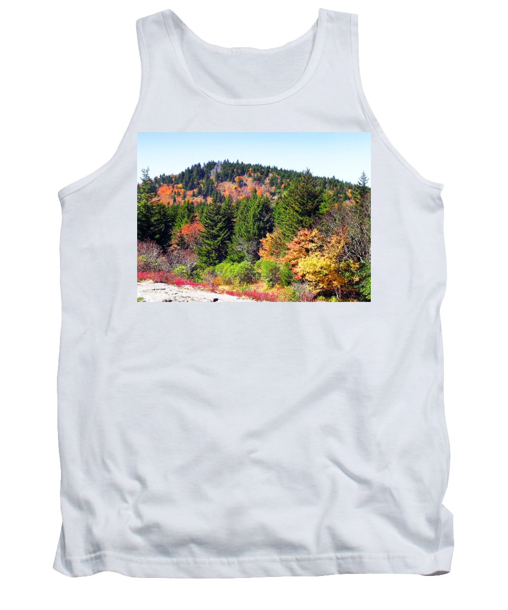 Fall Tank Top featuring the photograph Blueridge Parkway View Near Mm 423 by Duane McCullough