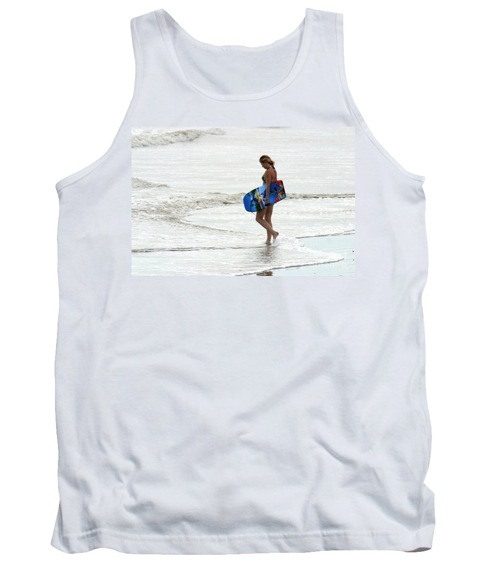 Gary Gingrich Tank Top featuring the photograph Boogie Board 0669b by Gary Gingrich Galleries