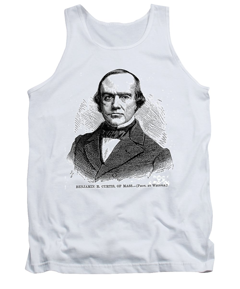 1868 Tank Top featuring the photograph B.r. Curtis (1808-1874) by Granger