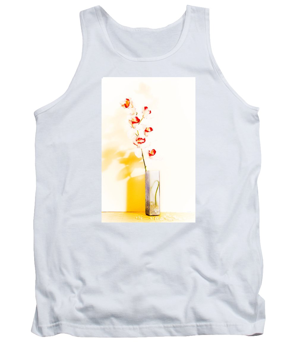 Flowers Tank Top featuring the photograph By The Window by Shani Soils