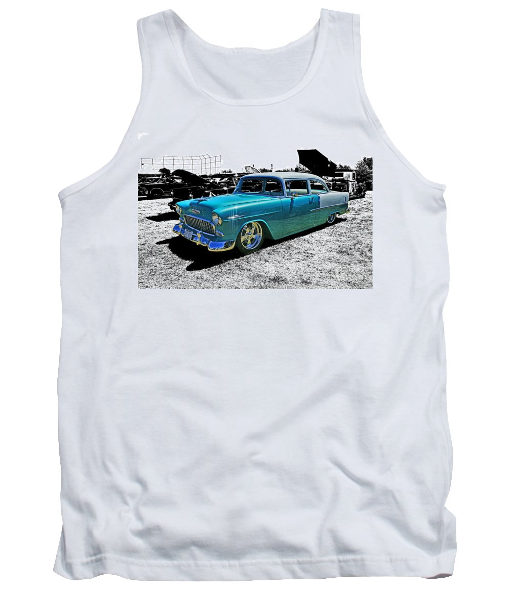 Cars Tank Top featuring the photograph Cadp0736-12 by Randy Harris