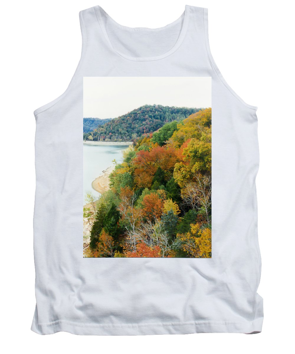 Tennessee Tank Top featuring the photograph Colors Of A Tennessee Fall by Debbie Karnes