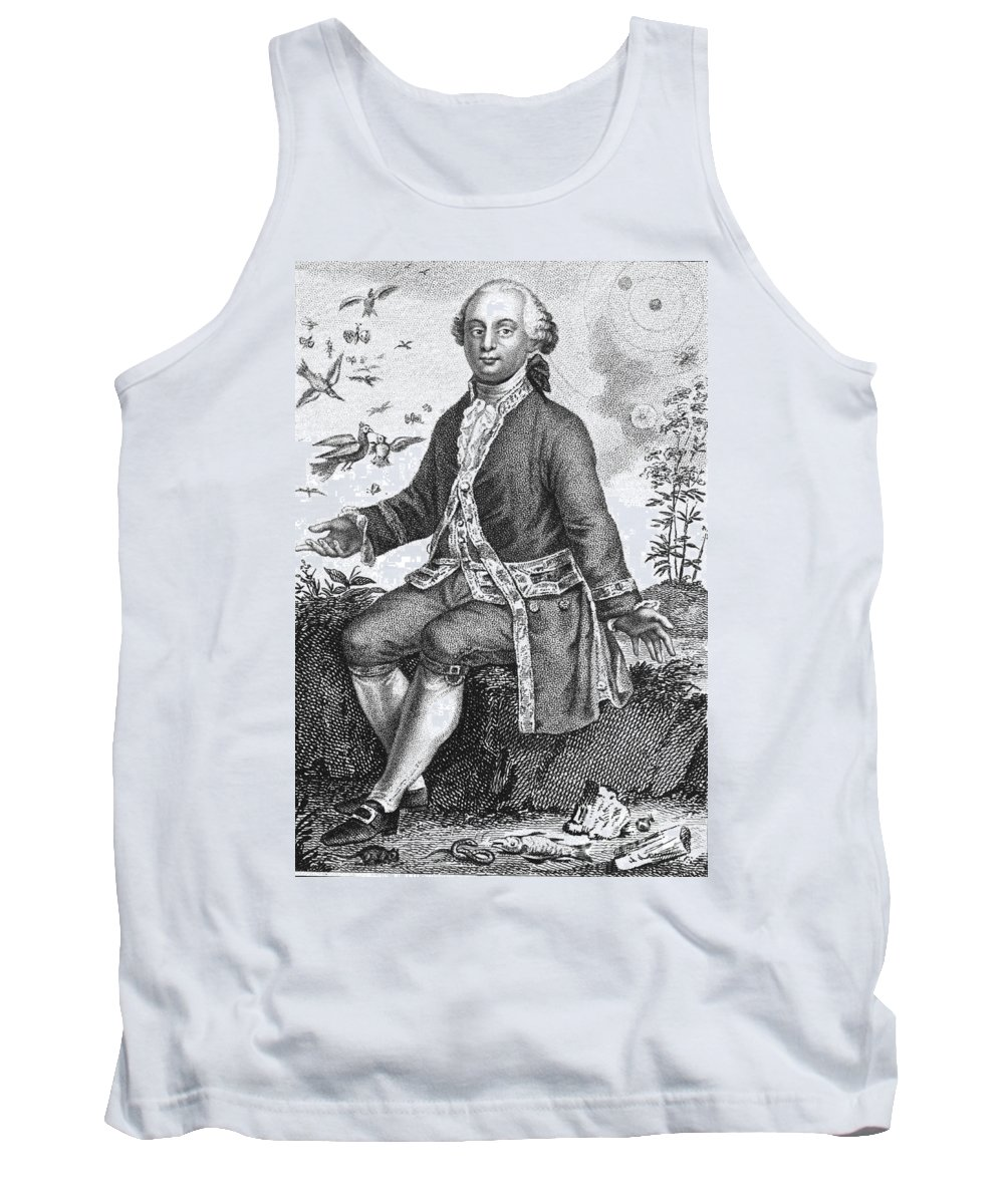 History Tank Top featuring the photograph Comte De Buffon, French Naturalist by Science Source