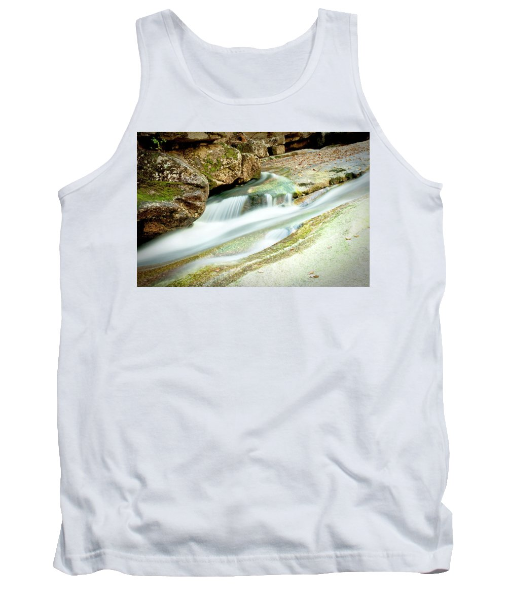 Water Tank Top featuring the photograph Converging by Greg Fortier