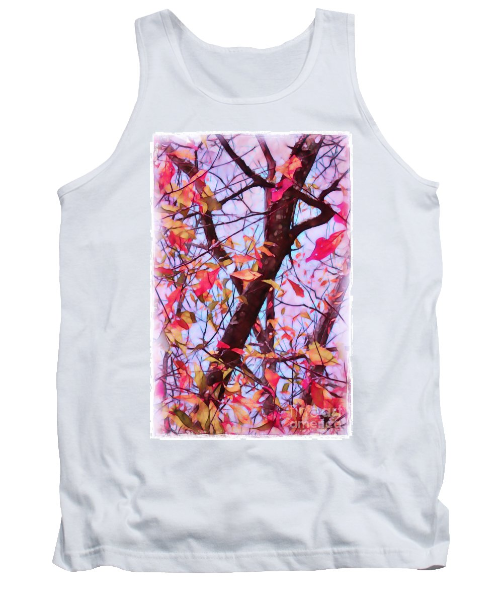 Fall Tank Top featuring the photograph Crisp Autumn Day by Judi Bagwell