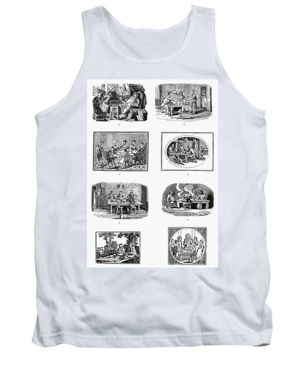 19th Century Tank Top featuring the photograph Daily Life: Dining by Granger