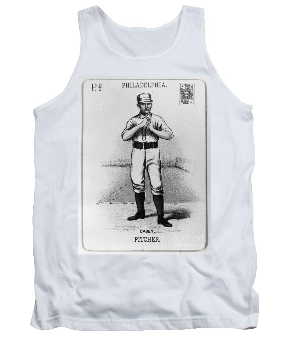 1888 Tank Top featuring the photograph Dan Casey (1862-1943) by Granger
