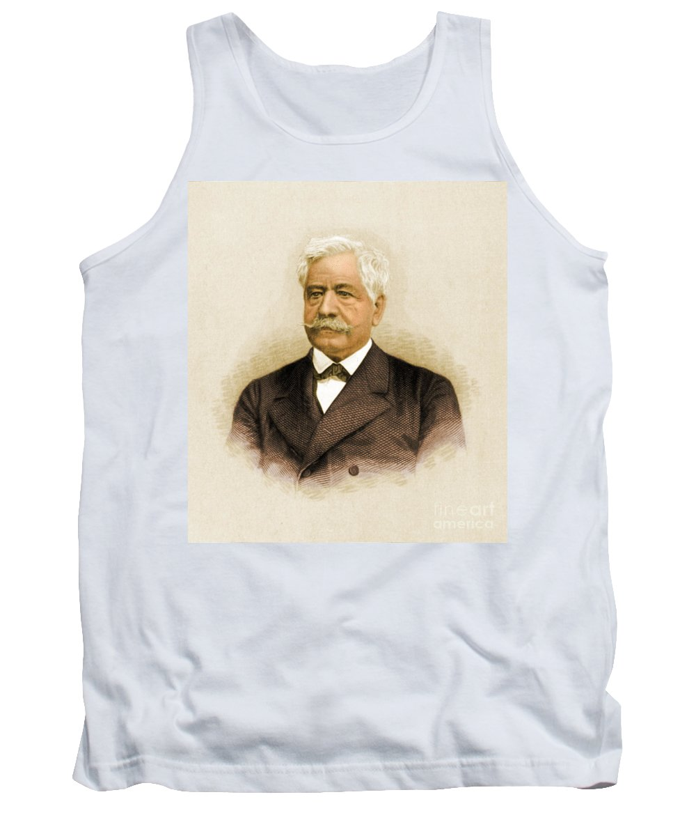 Story Tank Top featuring the photograph De Lesseps, French Diplomat, Suez Canal by Science Source