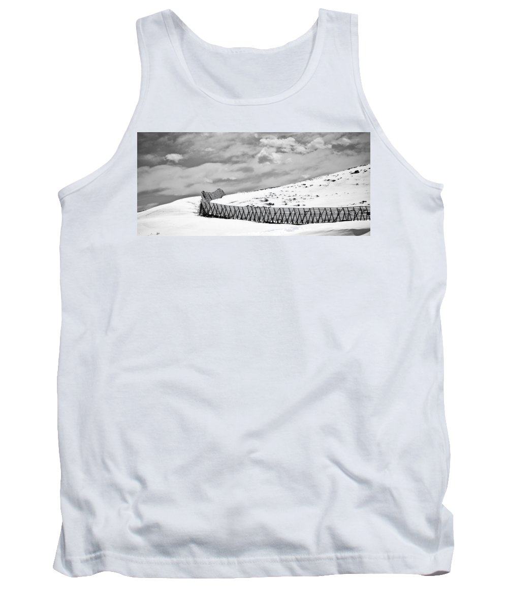 Desolate Tank Top featuring the photograph Desolation by Marilyn Hunt