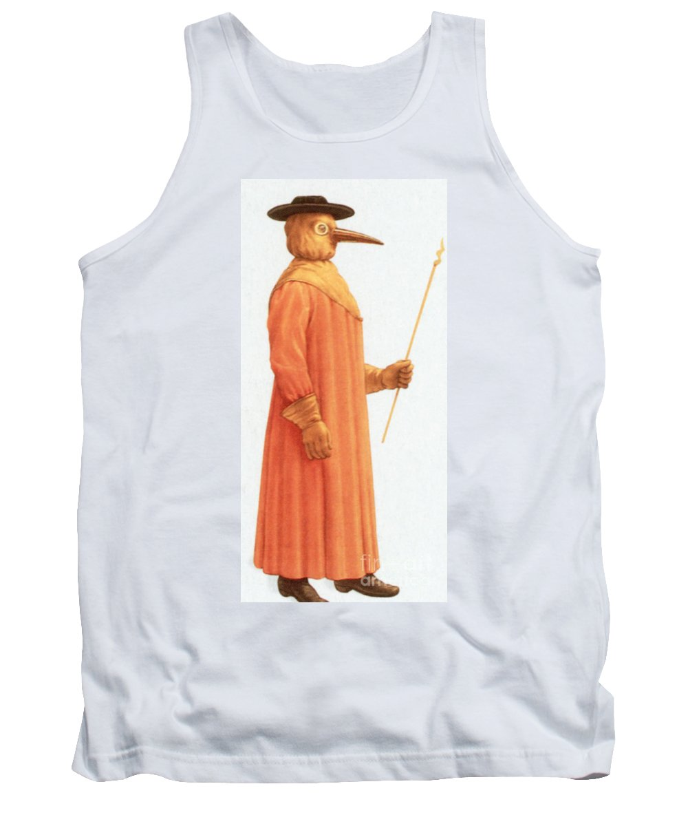 Plague Tank Top featuring the photograph Doctors Protective Clothing by Science Source