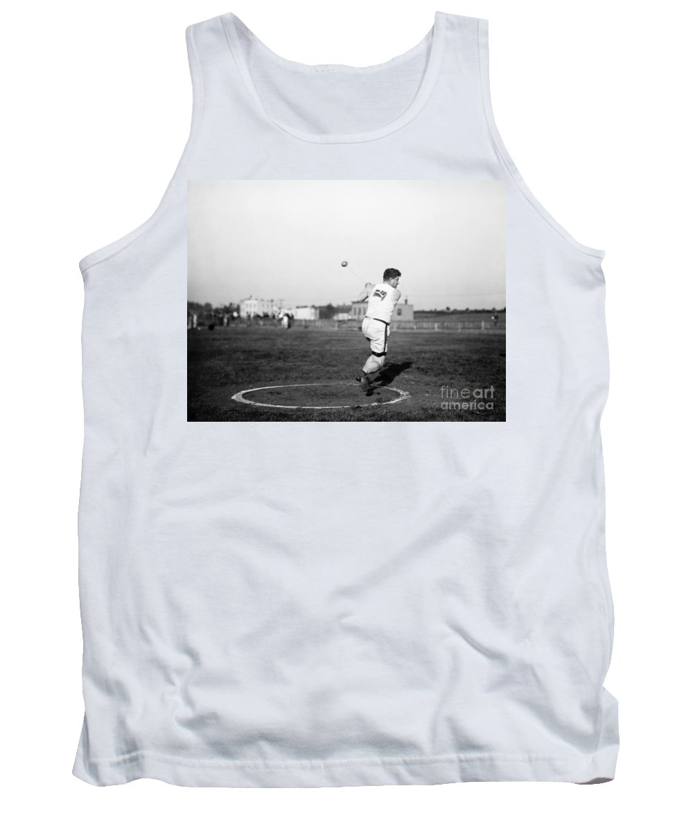 1912 Tank Top featuring the photograph Duncan Gillis (1883-1965) by Granger