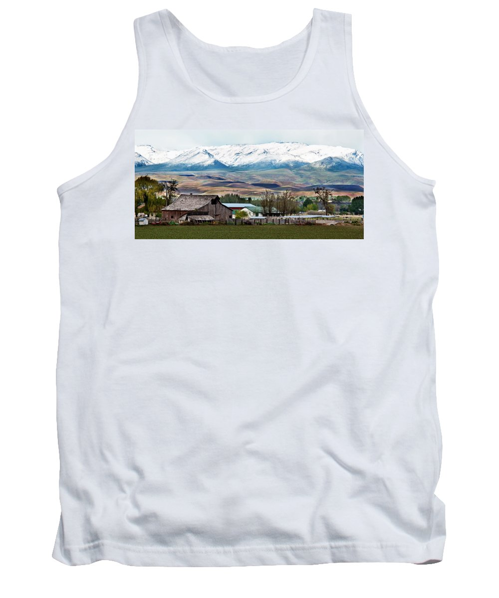 Farm Tank Top featuring the photograph Early Spring by Robert Bales