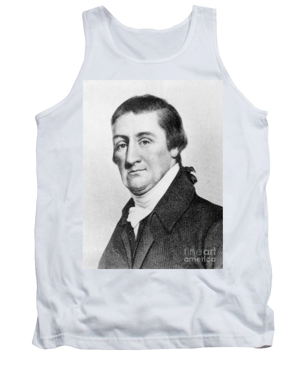 18th Century Tank Top featuring the photograph Elias Hasket Derby (1739-1799). American Merchant And Shipowner. Steel Engraving, 19th Century by Granger