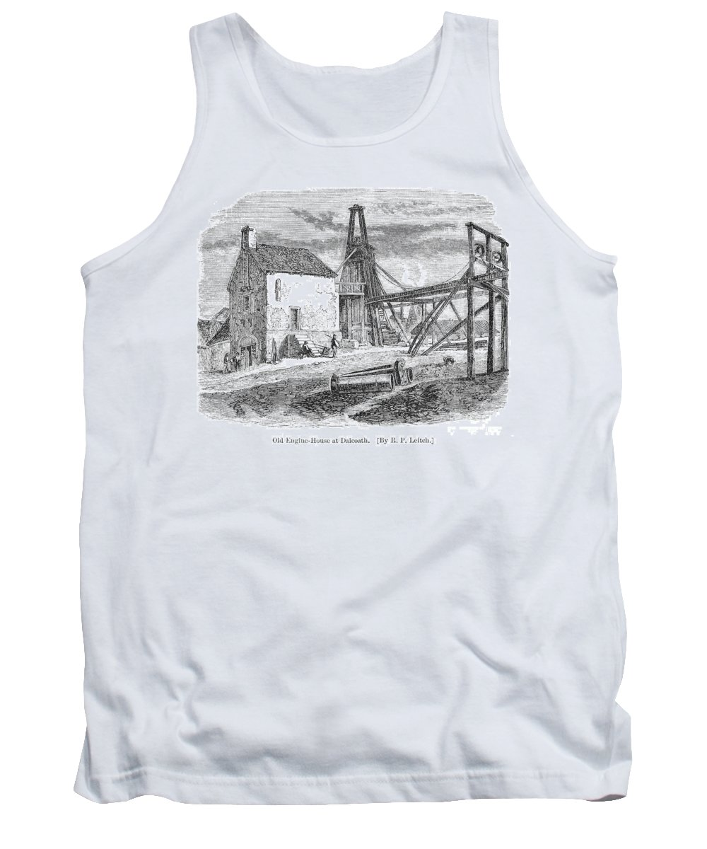 19th Century Tank Top featuring the photograph England: Coal Mining by Granger