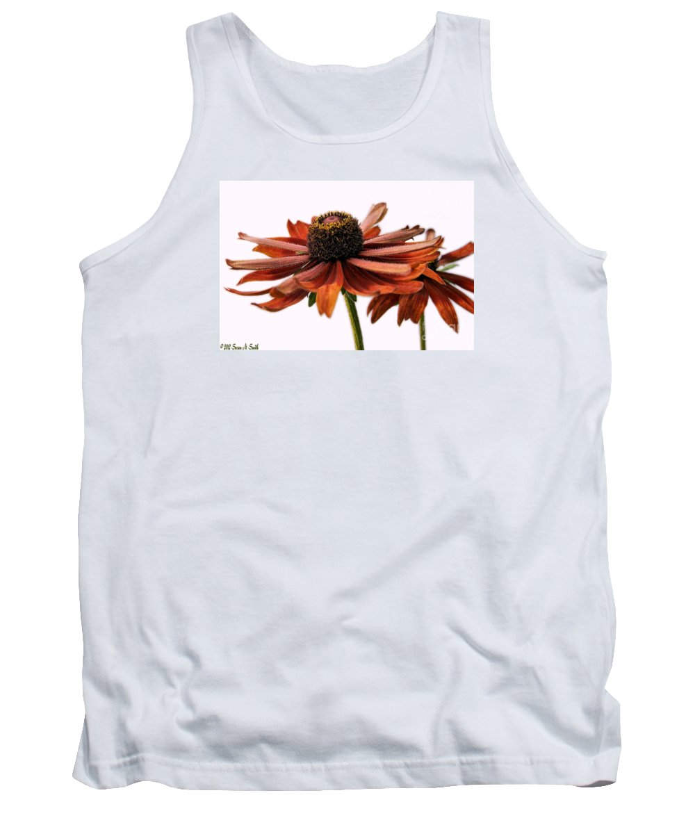 Photography Tank Top featuring the photograph Fall Girls by Susan Smith