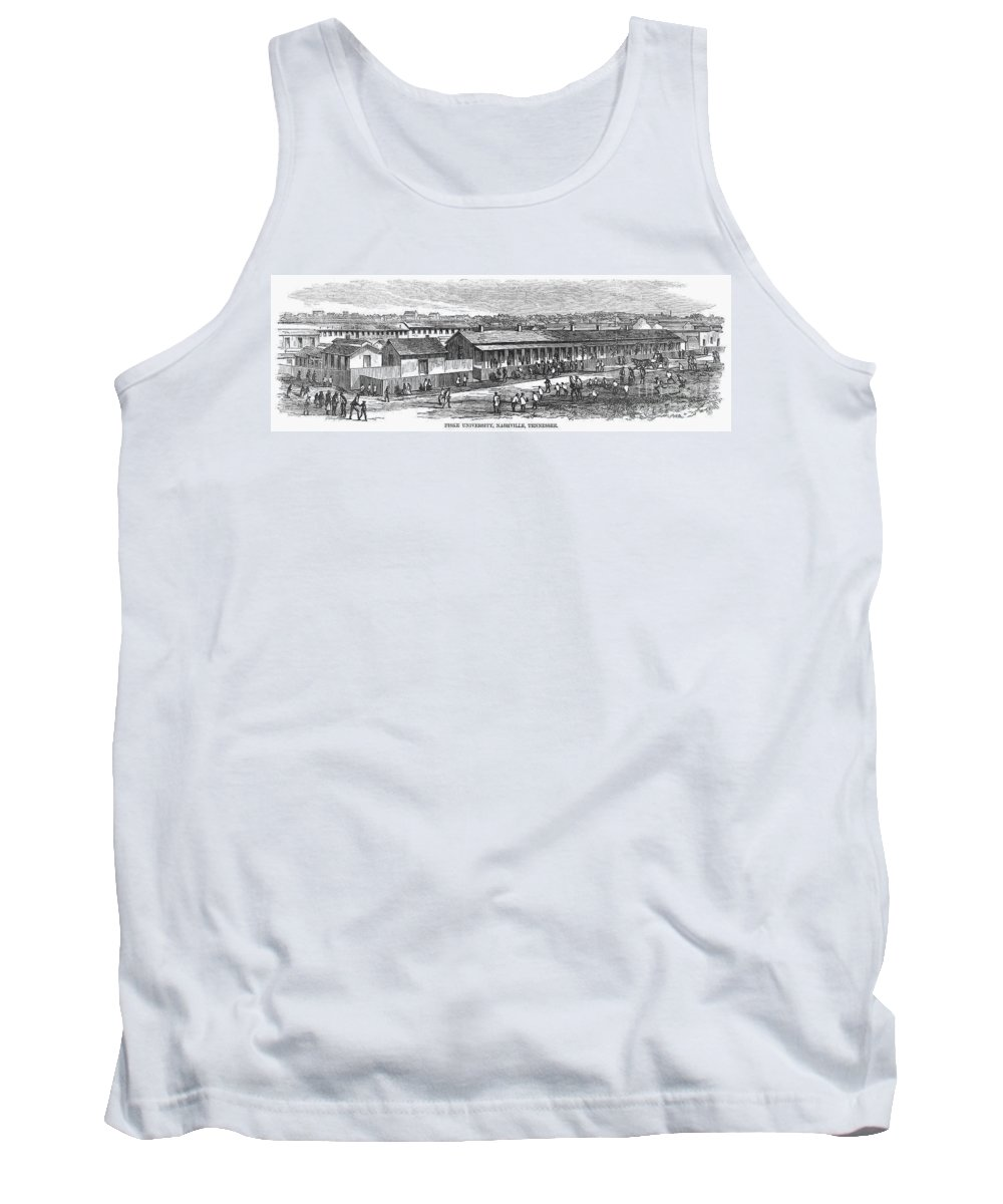 1868 Tank Top featuring the photograph Fisk University, 1868 by Granger