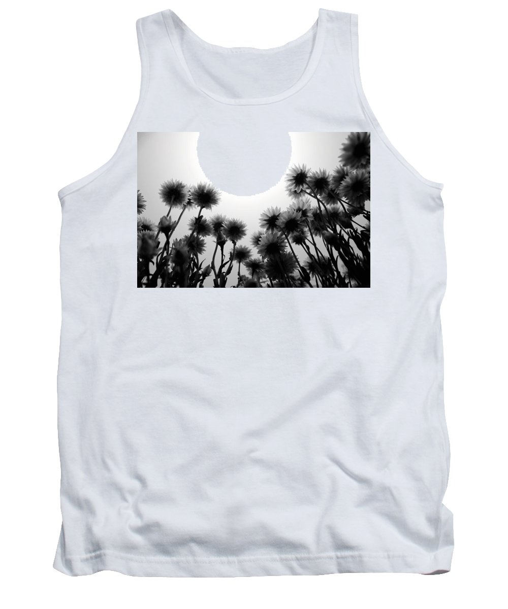 Flowers Tank Top featuring the photograph Flowers Standing Tall by Sumit Mehndiratta