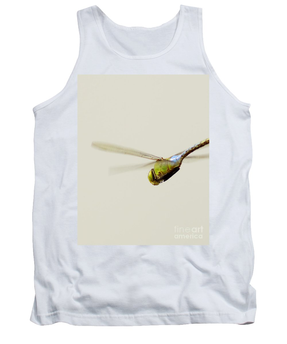 Nature Tank Top featuring the photograph Fly-by by Robert Frederick
